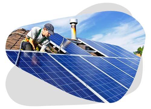 La réparation de panneaux photovoltaïques peut être gratuite.