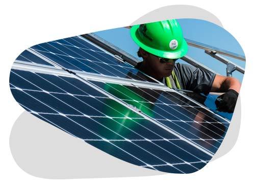 Un problème de panneau solaire doit être pris en charge par un technicien professionnel