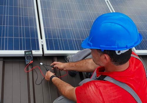 Nouvel'R Energie répare vos panneaux solaires avec des taches brunes