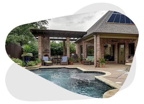 Le chauffage solaire pour piscine permet de faire des économies d'énergie
