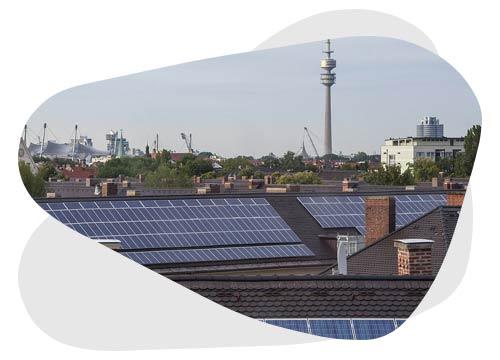 L'Autoconsommation collective photovoltaïque permet aux habitants d'un même immeuble de consommer une énergie verte.