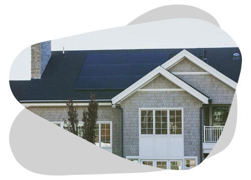 Le système solaire combiné vous permet d'accroître votre autonomie électrique.