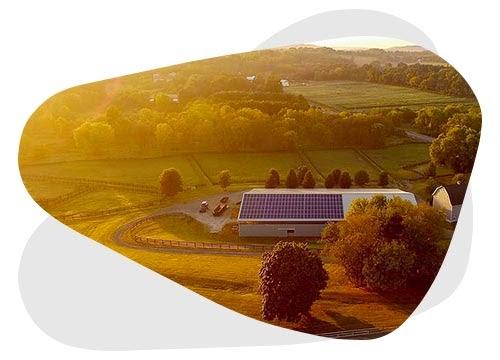 La location de toiture photovoltaïque permet de gagner des revenus supplémentaires.