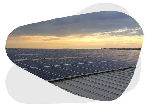 Vous aussi, installez des panneaux solaires sur toit plat
