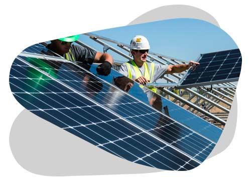 La pose de panneau solaire est expliquée dans le guide de Nouvel'R Énergie.
