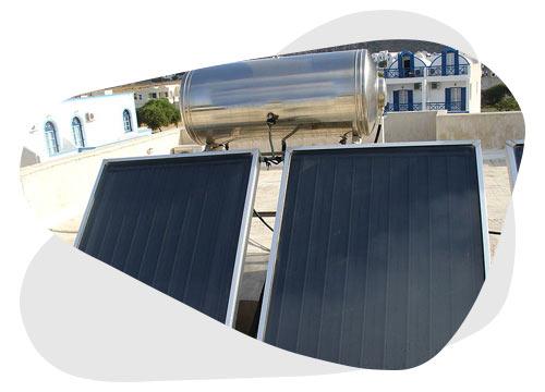 Le chauffe-eau solaire permet d'avoir de l'eau chaude gratuitement