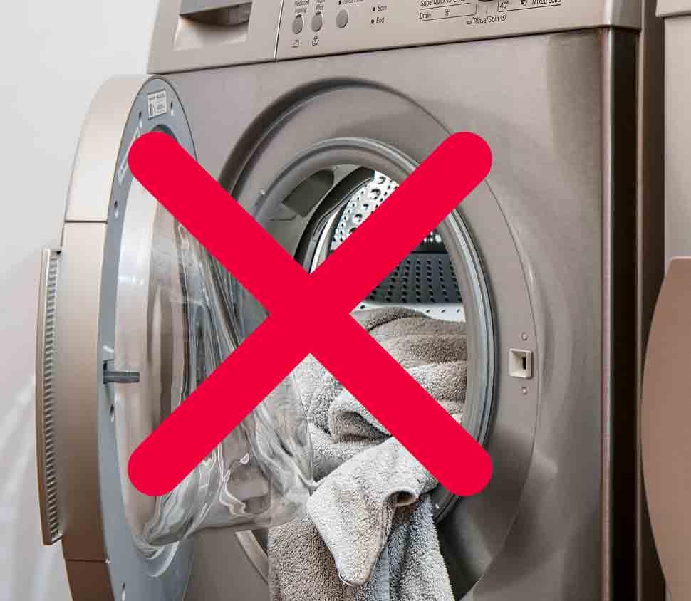 Ne faites tourner que vos machines à laver pleine pour faire des économies d'énergie