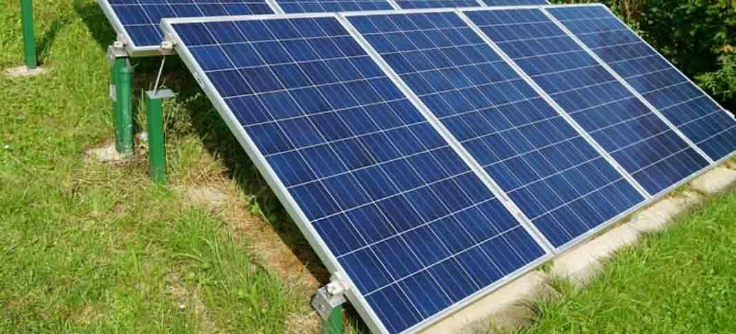 Si votre toiture ne vous le permet pas, vous pouvez installer des panneaux solaires au sol