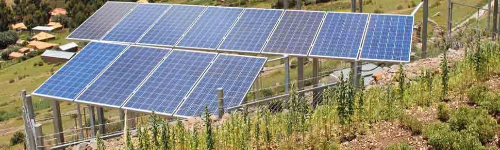 Optez pour une installation de panneaux solaires au sol si votre toiture ne bénéficie pas d'une bonne inclinaison