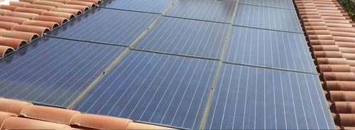 Les panneaux solaires ne sont plus obligatoirement intégrés au bâtiment.