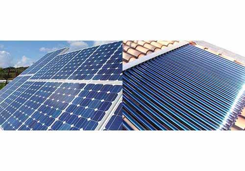 C'est à vous de choisir entre une installation photovoltaïque ou thermique