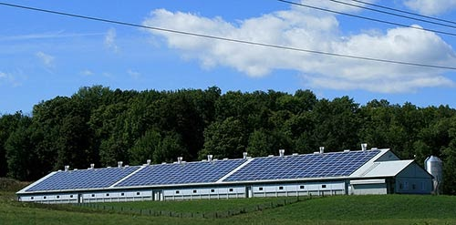 Louez la toiture de votre bâtiment pour y installer des panneaux solaires.