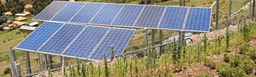 Les panneaux solaires au sol peuvent être plus rentables qu'en toiture.