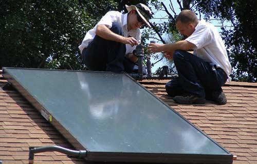 La TVA pour un chauffe-eau solaire est réduite.