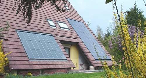 Chauffez votre maison grâce aux capteurs solaire à récupération d'air chaud.