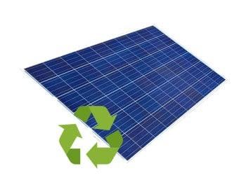 Privilégiez une entreprise qui s'occupe du recyclage de votre panneau solaire polycristallin