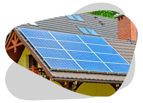 Les cellules photovoltaïques assurent le fonctionnement d'un panneau solaire