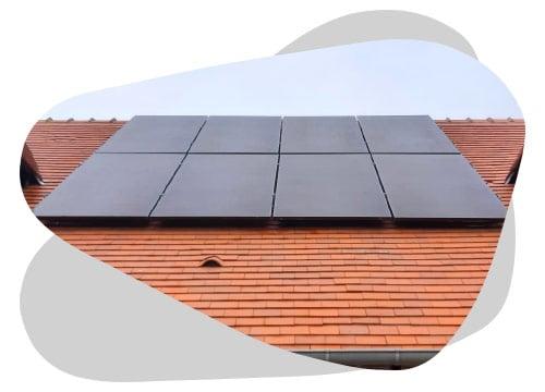 Le kit panneau solaire s'installe facilement