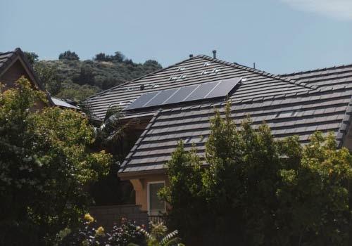 Avoir une maison autonome permet de faire des économies sur votre facture d'électricité.