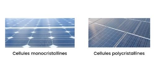 Les cellules photovoltaïques monocristallines sont les plus utilisées