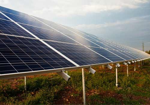 Le calcul de panneaux solaires dépend de la surface.