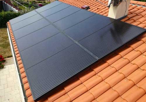 Les panneaux solaires vous permettent d'économiser de l'électricité.