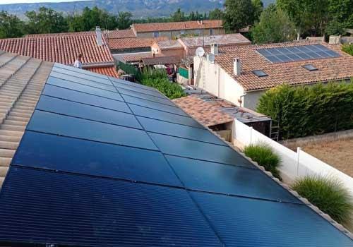 La température va influencer la production de vos panneaux solaires.