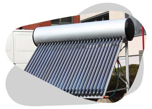Le chauffe-eau solaire individuel vous permettra de produire de l'eau chaude gratuitement.