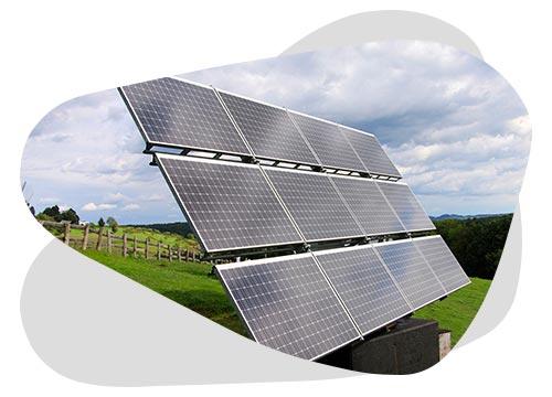 Un tracker solaire permet à une installation de suivre le soleil
