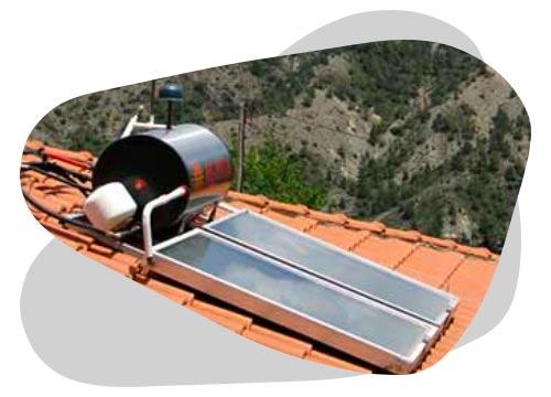Le solaire thermique sert à produire de la chaleur ou de l'eau chaude