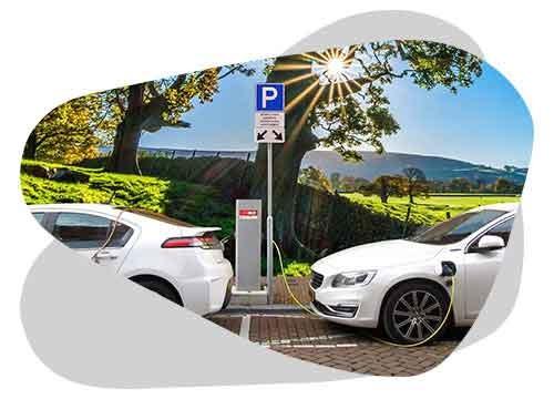 Une borne de recharge est utile pour recharger sa voiture électrique