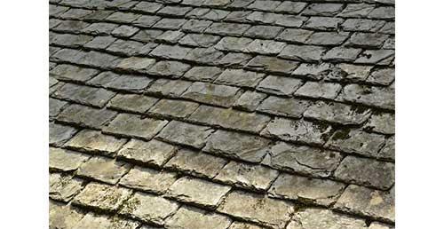 L'ardoise naturelle vient de roches métamorphiques