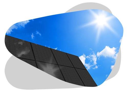Le raccordement d'un panneau solaire signifie qu'il est relié au réseau électrique public