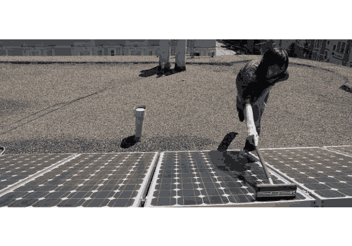 Le prix d'un nettoyage de panneau solaire ne vos coûtera pas cher.