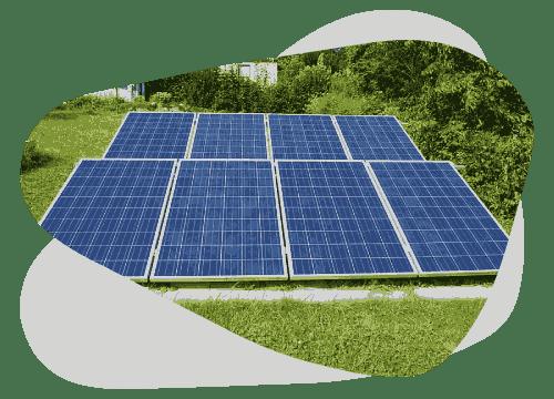 Placer des panneaux solaires dans votre jardin peut vous faire faire des économies.