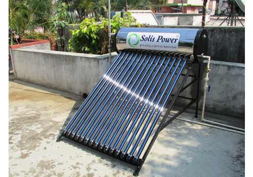 Le panneau solaire thermique permet de chauffer votre piscine.