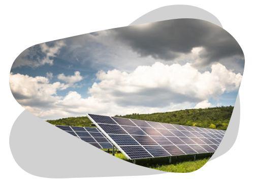 Le parc photovoltaïque permet de produire une très grande quantité d'énergie solaire