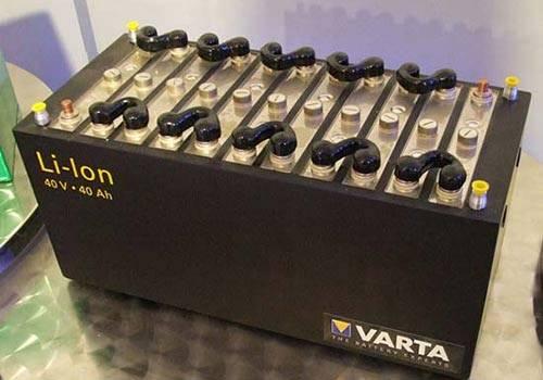 La batterie au lithium est la batterie la plus utilisée.