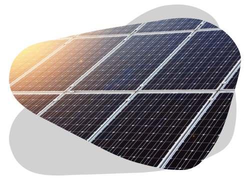 Le panneau solaire amorphe est doté de plusieurs types de cellules photovoltaïques.