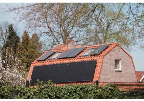 Le panneau solaire amorphe est adapté à différent types de bâtiments.