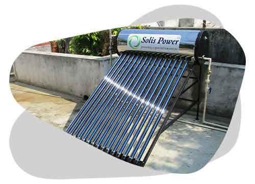 Le chauffe eau solaire thermosiphon permet d'avoir de l'eau chaude sanitaire gratuitement.