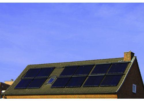 Le solaire thermique est une solution de chauffage.