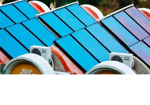 Un problème avec vos panneaux solaires thermiques doit être résolu par un professionnel