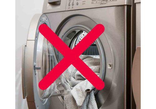 Ne faites tourner que vos machines à laver pleine pour faire des économies d'énergie.