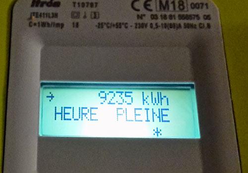 Le compteur Linky vous permet de savoir quelle est votre consommation d'énergie au jour le jour.