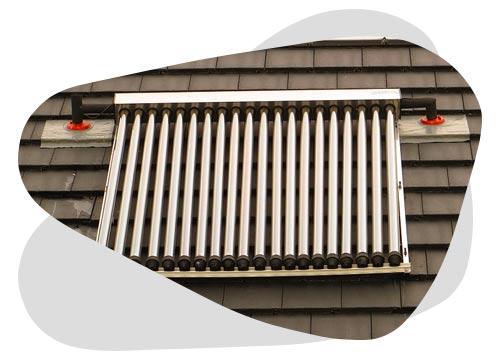 Les panneaux solaires thermiques permettent de chauffer votre foyer.