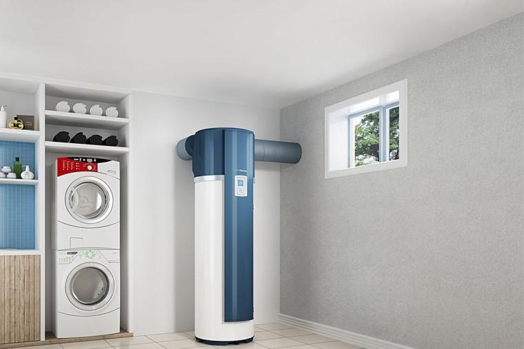 Le chauffe-eau est un système plus écologique.