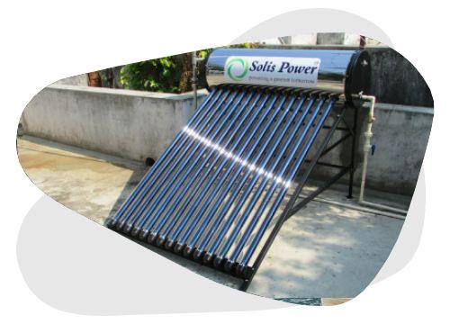 Le chauffe-eau solaire autovidangeable