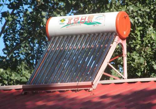 Le chauffe-eau solaire autovidangeable fonctionne par intermittence