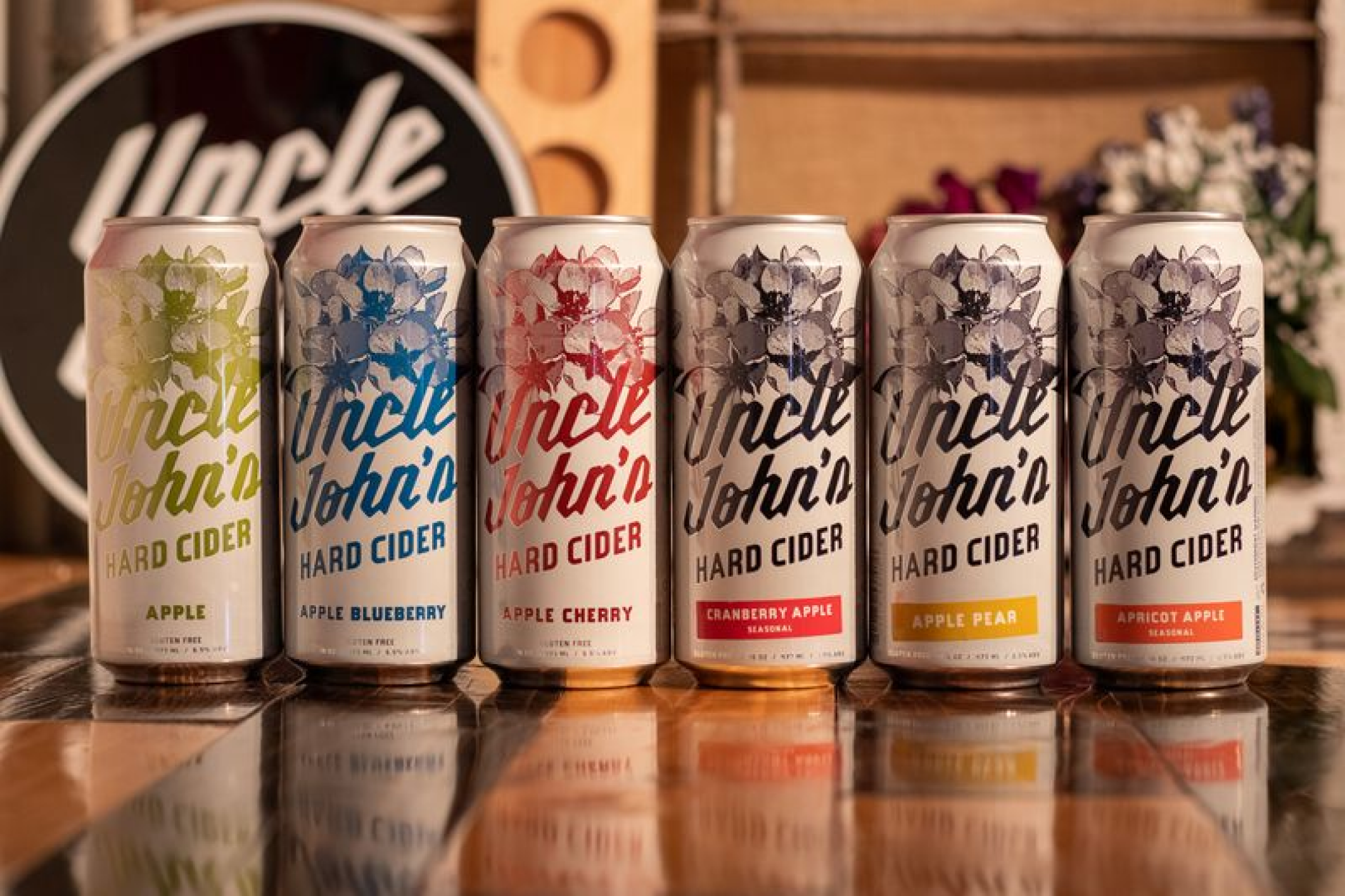 Uncle John's Cider Mill Taproom Cans